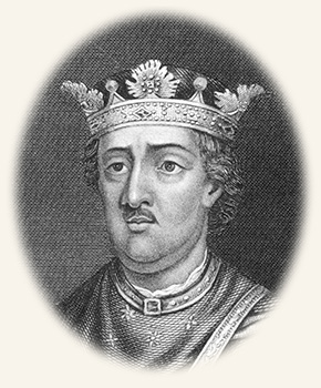 Drawing of King Henry II