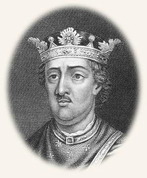 Drawing of King Henry II