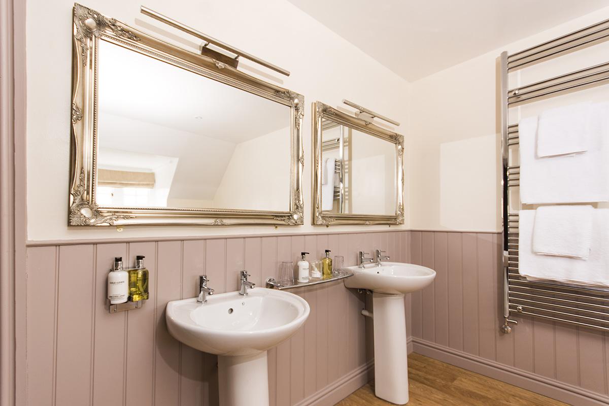 Appleby Castle's Russel Suite luxury bathroom