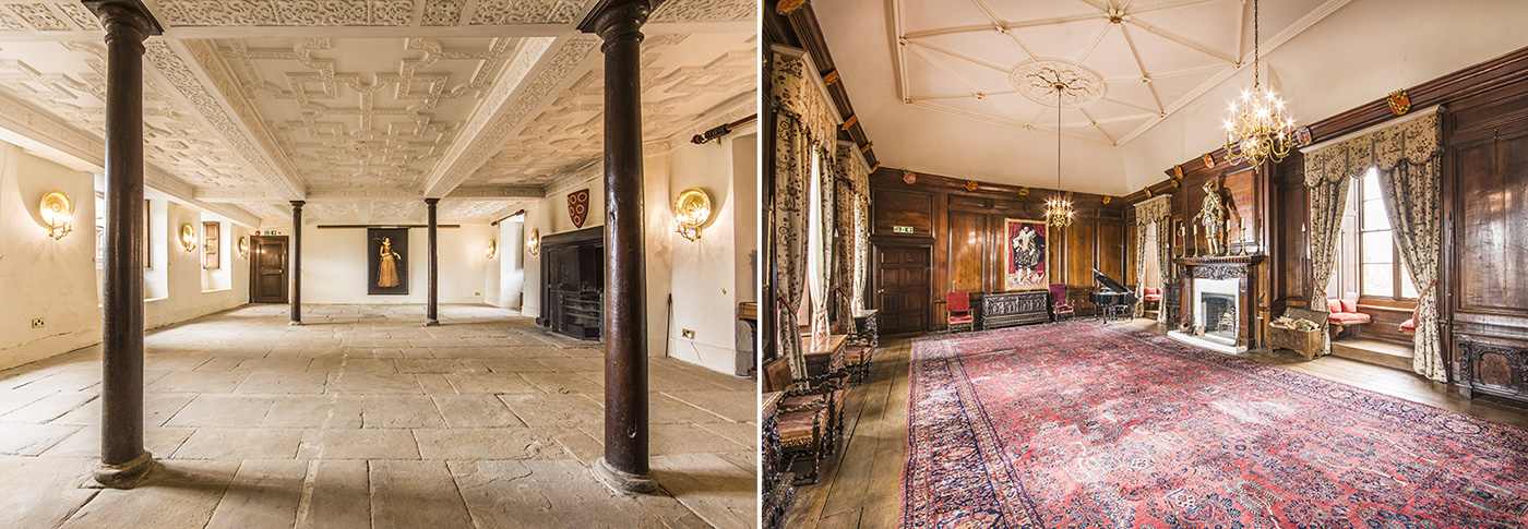 Large rooms suitable for conferences at Appleby Castle