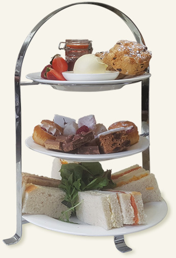 Delicious afternoon tea are served at Appleby Castle