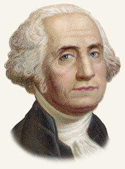George Washington the First President of the United States